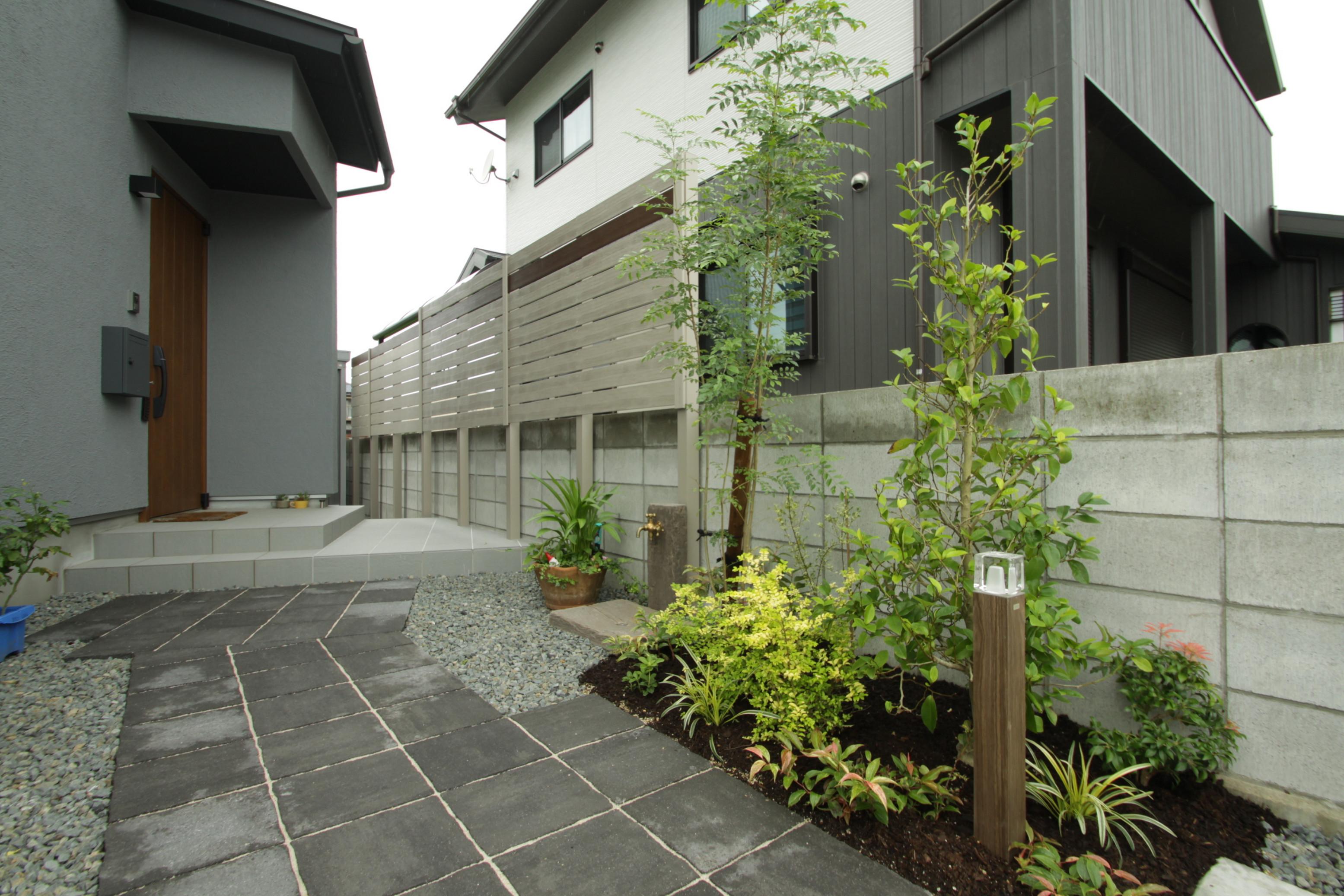 オープンで素敵な外構・お庭